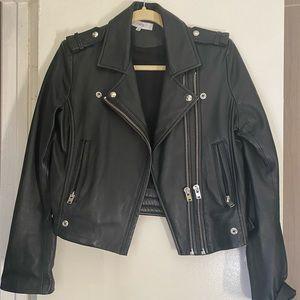 Slightly worn IRO (LUIGA) leather jacket size 42